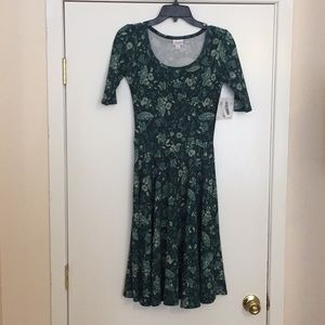 XS LuLaRoe Nicole Dress G03 1954